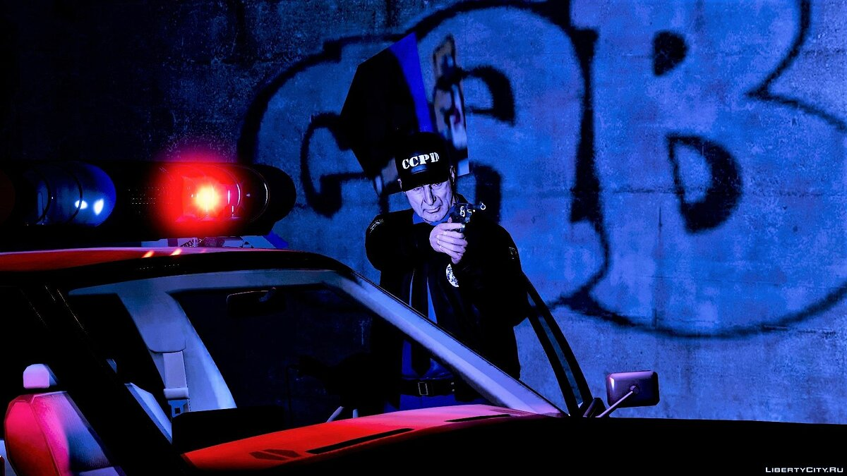 Skin Carcer City Police Pack   CCPD   Manhunt   Halloween 2018 Release 1.0 for GTA 5