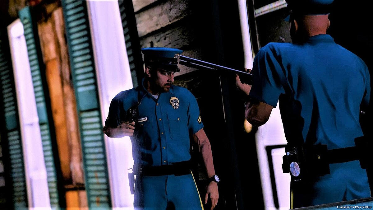 Skin Carcer City Police Pack | CCPD | Manhunt | Halloween 2018 Release 1.0 for GTA 5