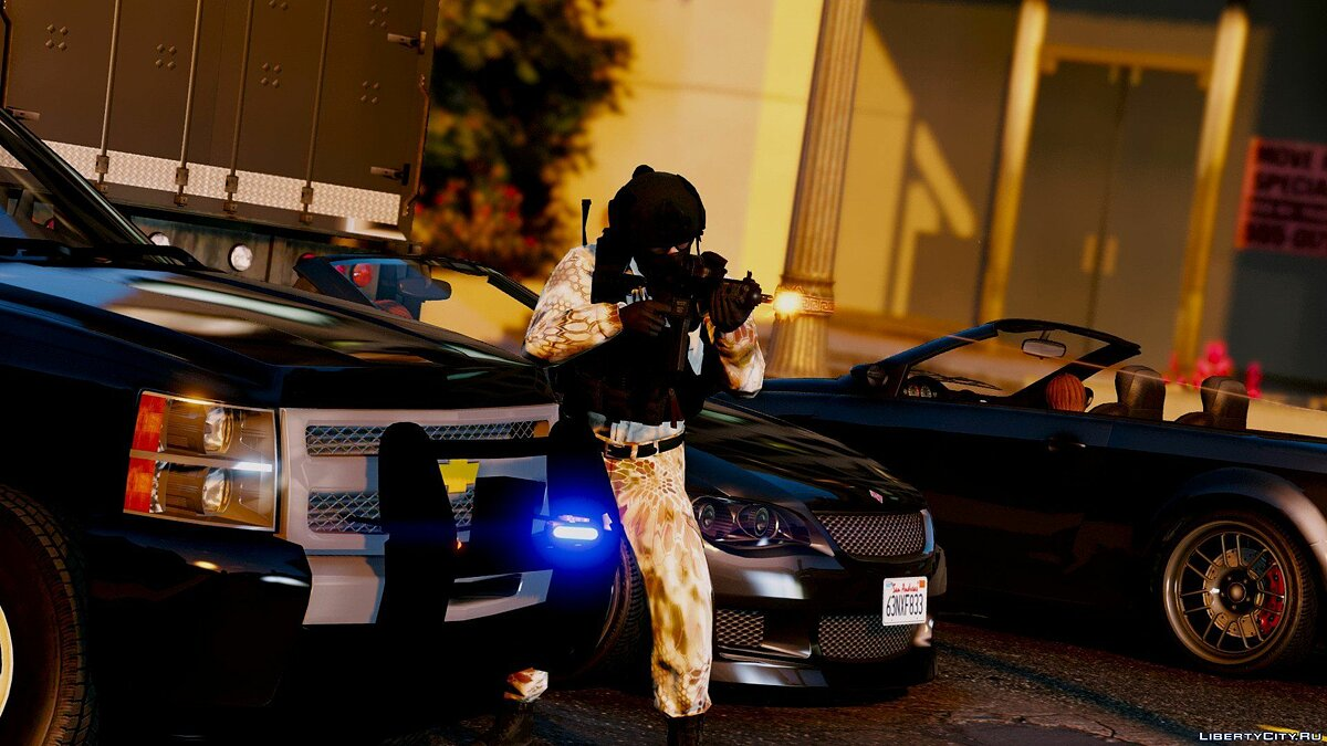 Skin Korean special forces for GTA 5