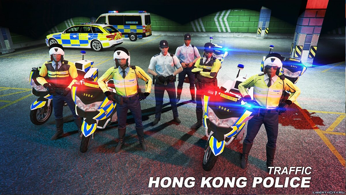 Uniforms of hong kong for GTA 5