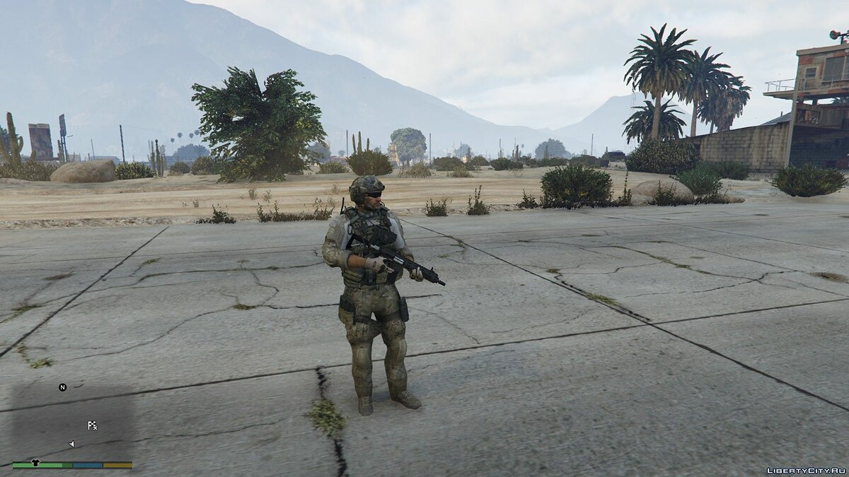 Skin Soldier from the game Call Of Duty Modern Warfare 3 for GTA 5