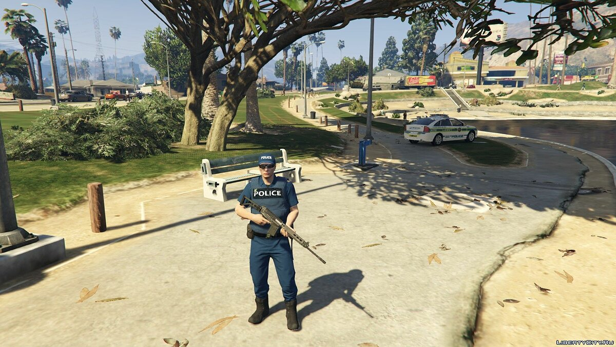 Skin SAPS UNIFORM (South African Police Service) 1.0 - South African Police Uniforms for GTA 5