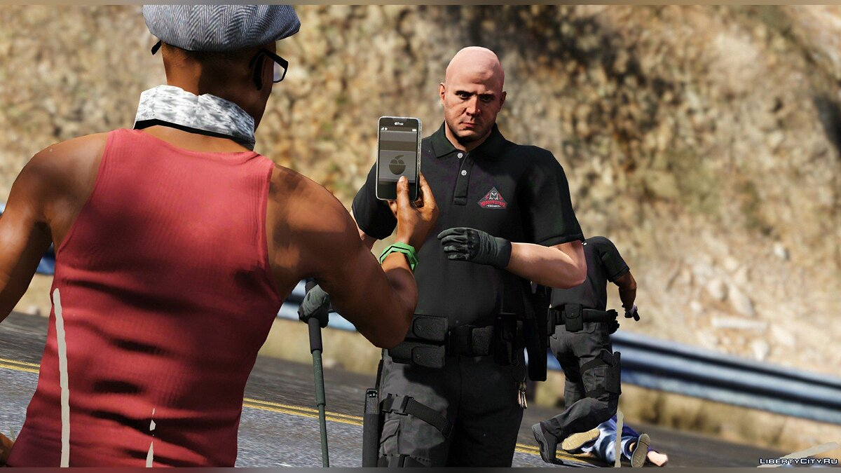 Skin Enhanced Merryweather Chemical Plant Safety for GTA 5