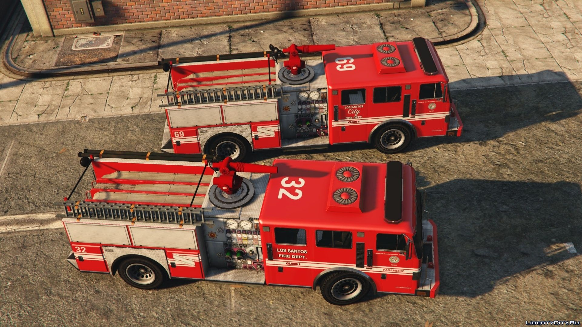 MTL Fire Truck - Mapped [Replace | Liveries] 1 0 for GTA 5