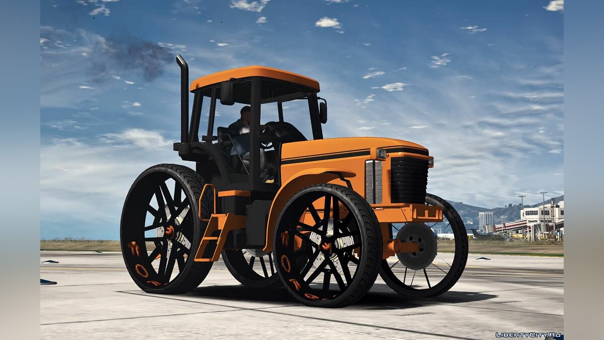 Special Vehicle Трактор Donk 1.0 for GTA 5