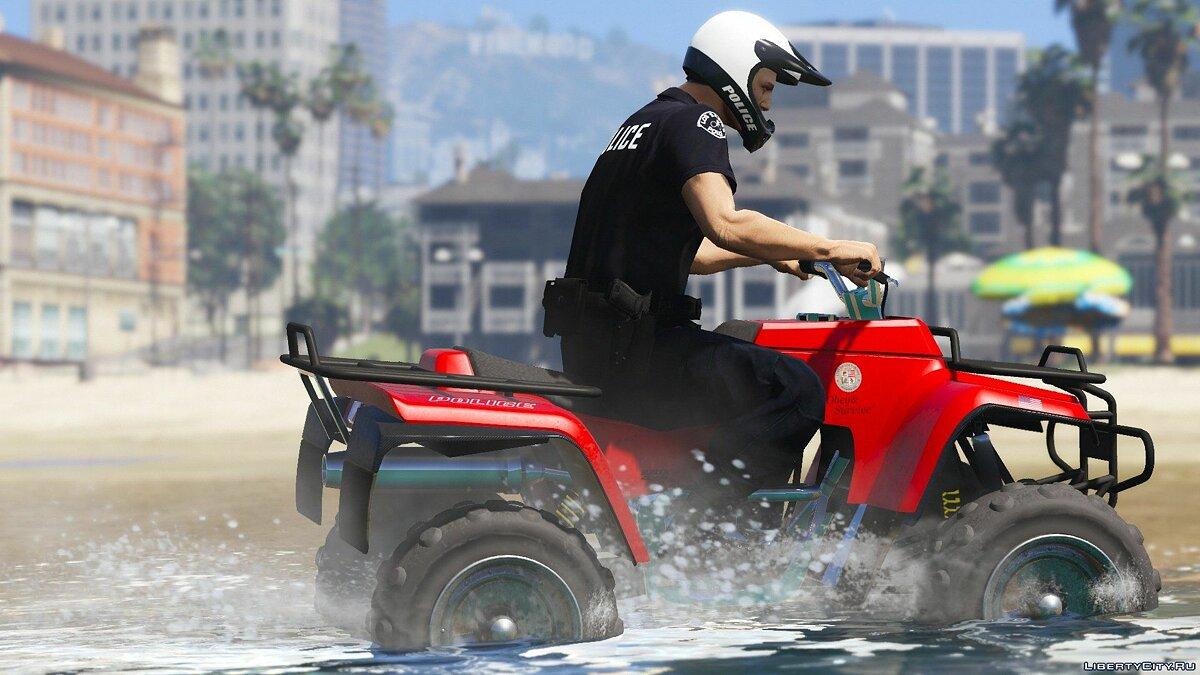 Special Vehicle LSPD Nagasaki Blazer - Пляжный патруль [Add-on] for GTA 5