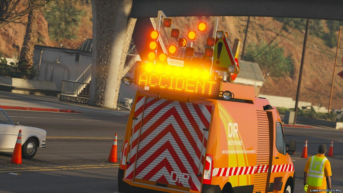 Special Vehicle Renault Master 2010 Road Service for GTA 5
