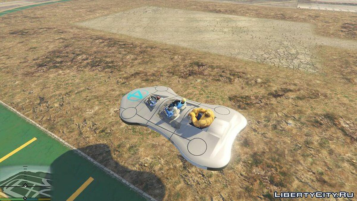 Special Vehicle Fantastic Four Vehicles for GTA 5