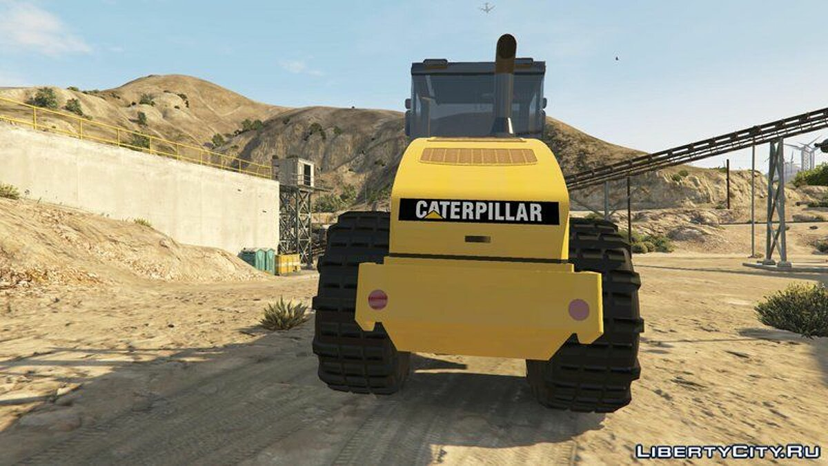 Special Vehicle Caterpillar CS56 Roller [Add-On] for GTA 5