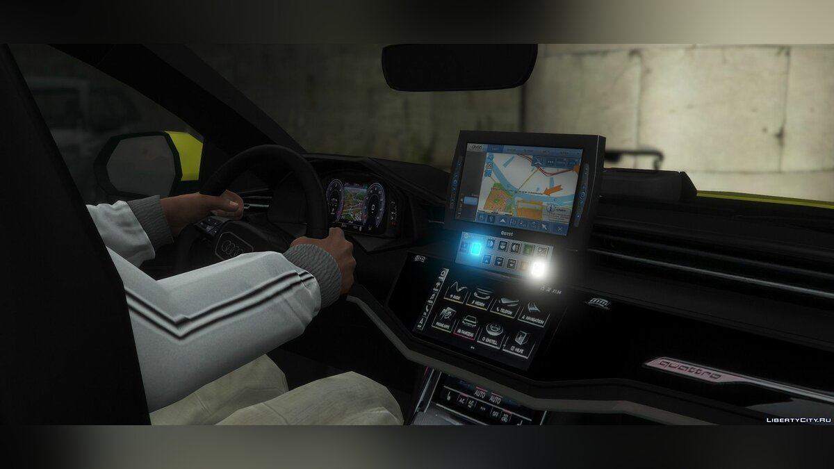 Special Vehicle Audi Q8 - Скорая помощь for GTA 5