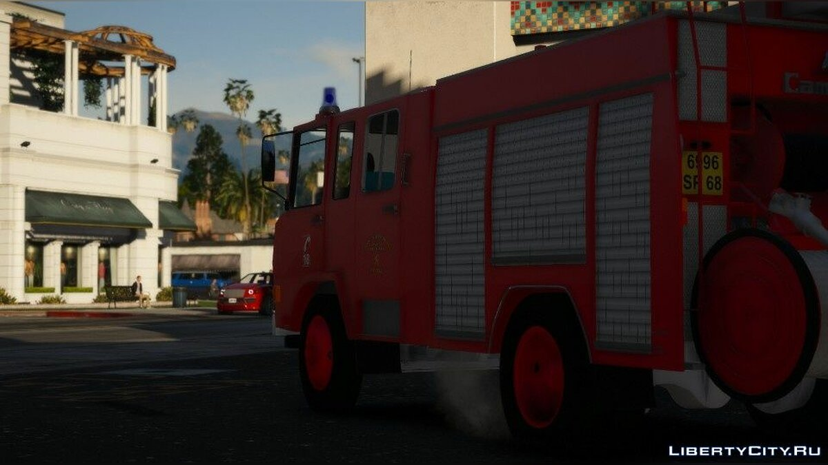 Special Vehicle Berliet SDIS68 Camiva [Replace-Non ELS] 1.0 for GTA 5