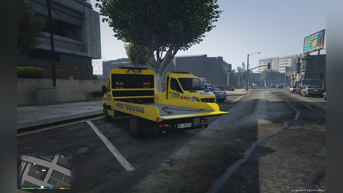 ACI Soccorso Stradale Mercedes Sprinter 1.0 for GTA 5 - screenshot #2
