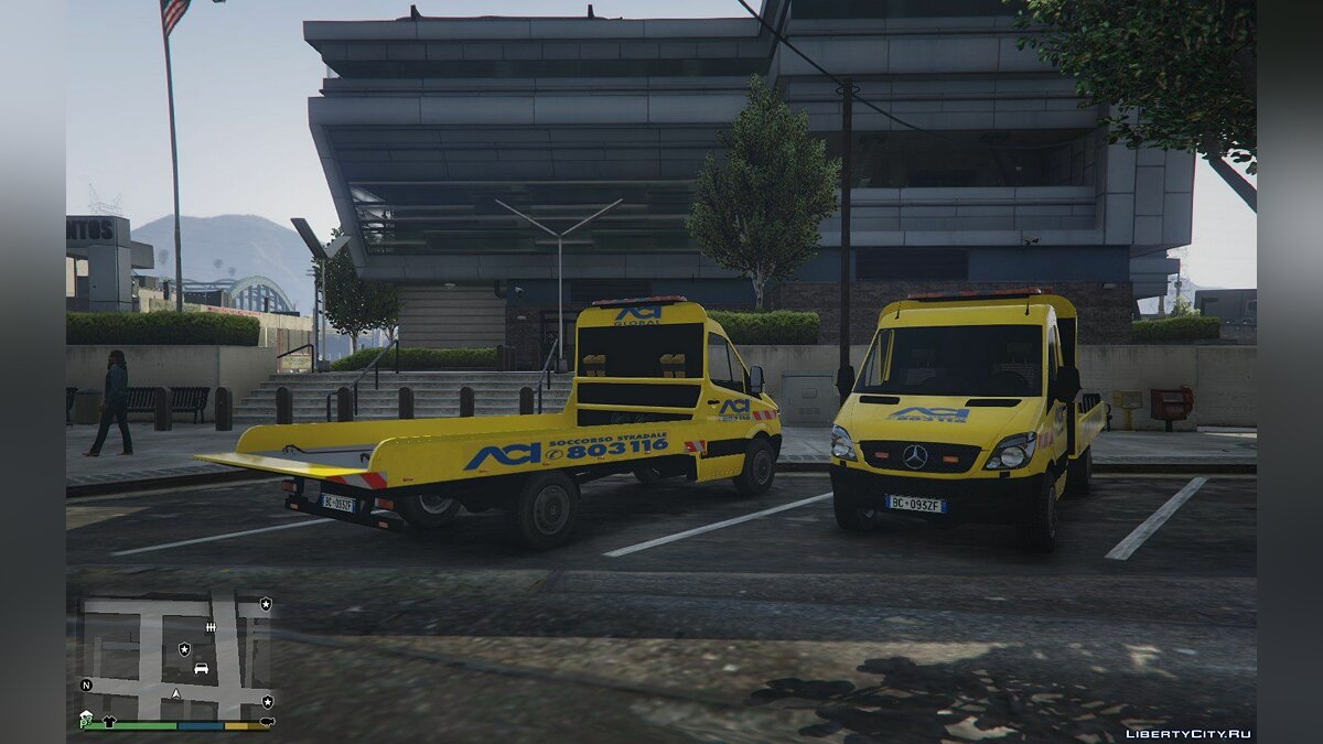 ACI Soccorso Stradale Mercedes Sprinter 1.0 for GTA 5