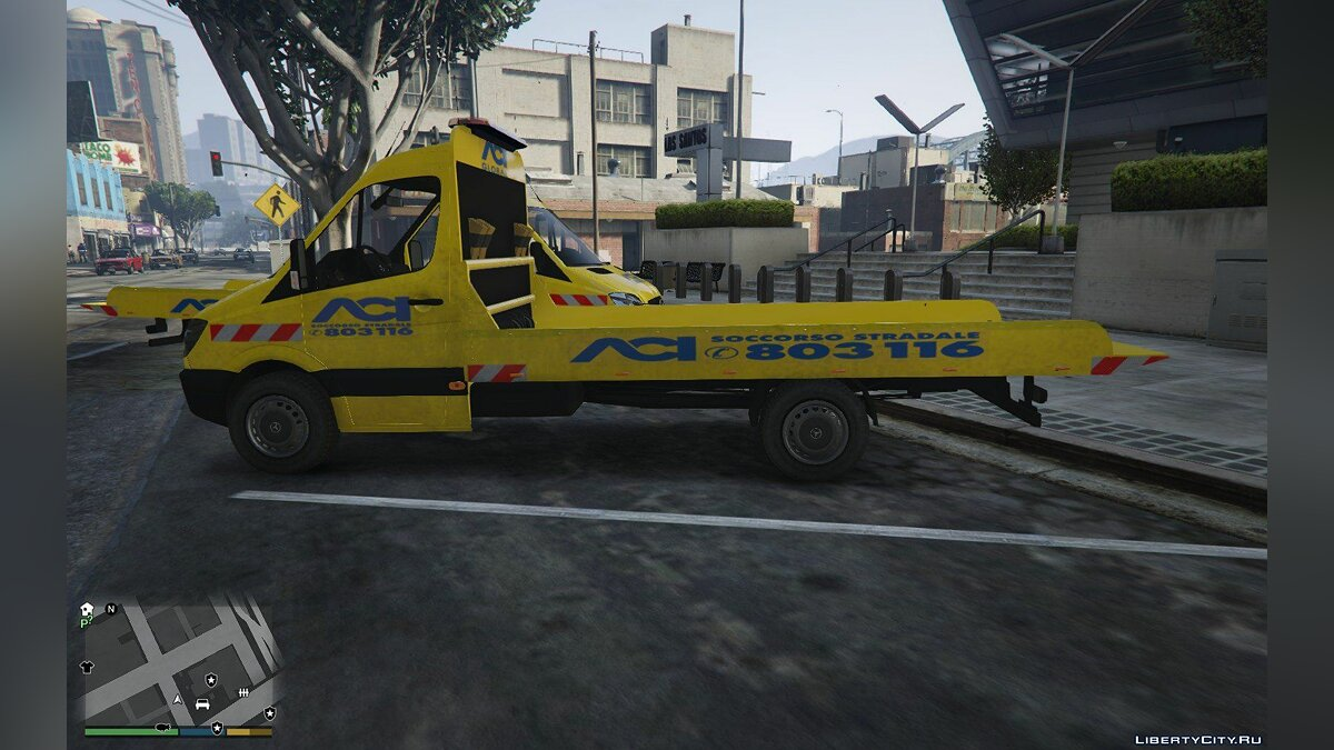 ACI Soccorso Stradale Mercedes Sprinter 1.0 for GTA 5 - screenshot #3