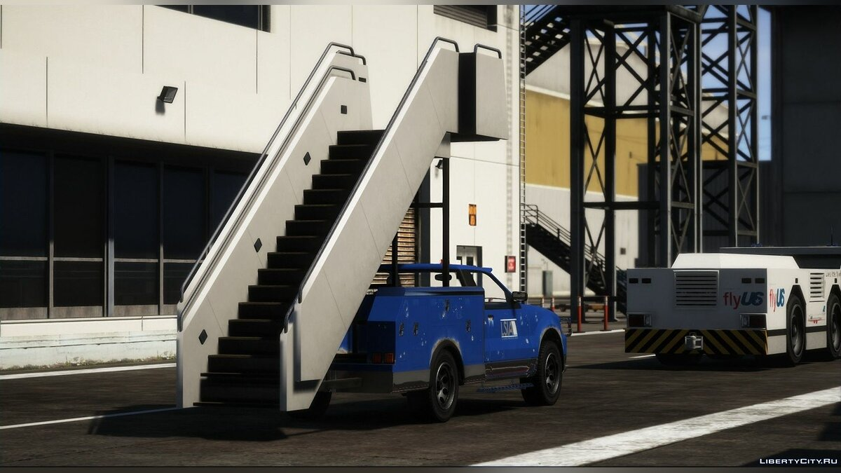 Special Vehicle Mobile ladder on the basis of the Vapid Contender car for GTA 5