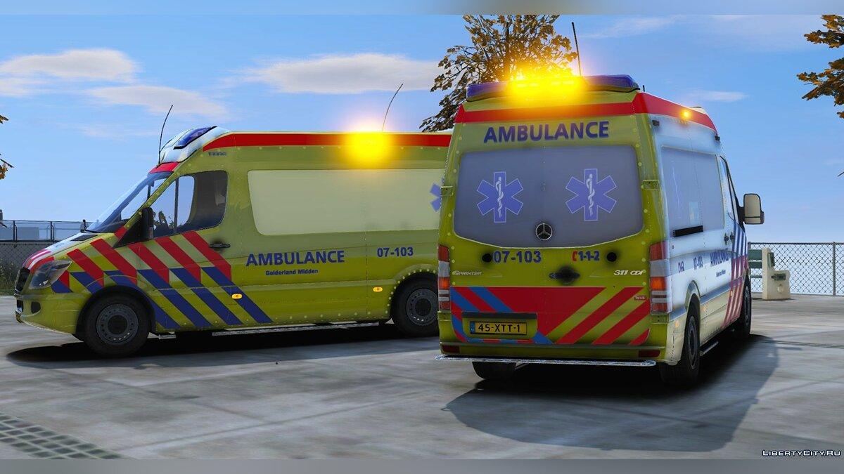 Special Vehicle 2011 Sprinter Wietmarscher Type-B/ALS [ELS] [REFLECTIVE] V1 for GTA 5