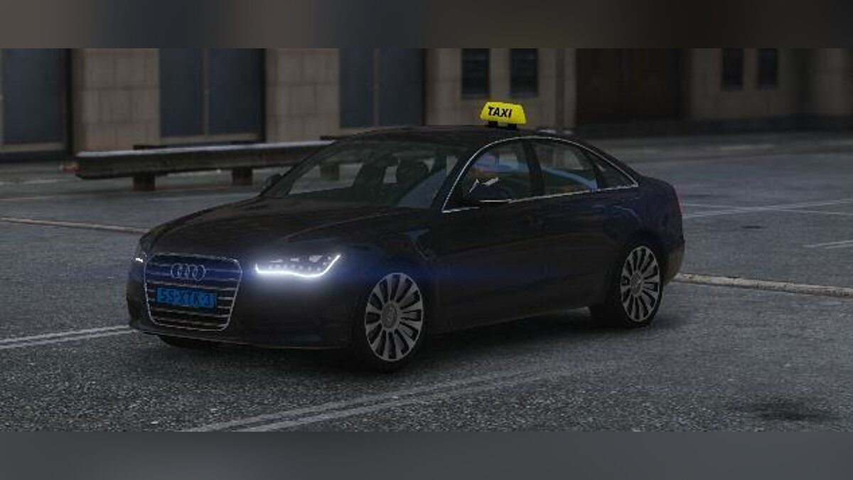 Audi A6 c7 Limousine Dutch Taxi 1.0 for GTA 5