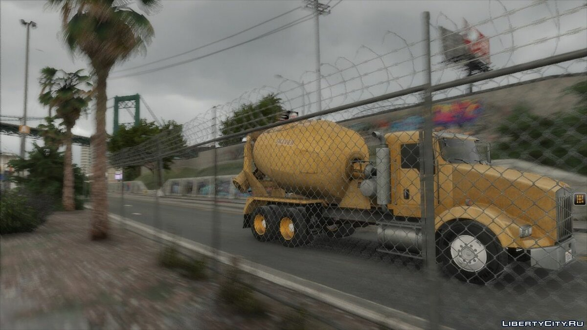 Special Vehicle Kenworth T800 cement truck for GTA 5