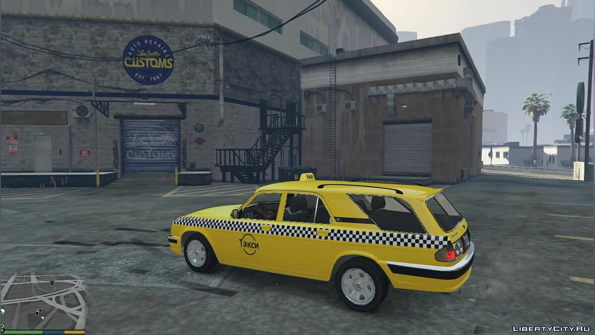 Special Vehicle GAZ 31105 TAXI for GTA 5