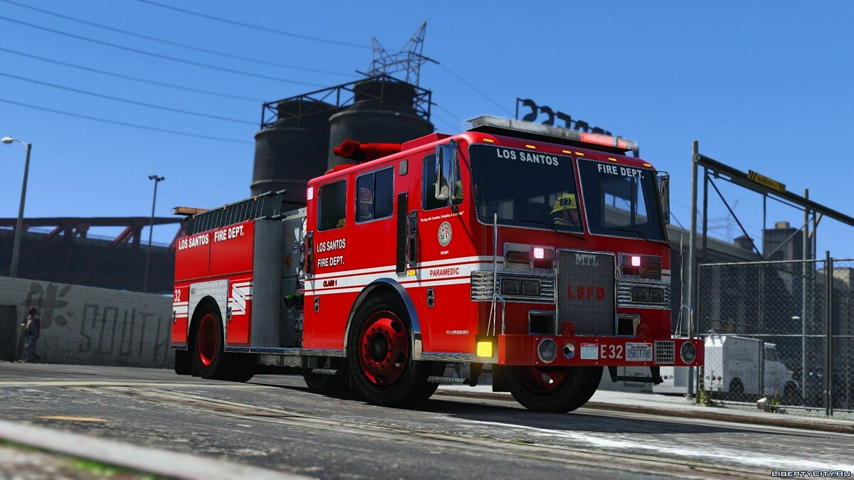 Special Vehicle MTL Fire Truck (Improved model) [Add-On | Liveries | Template] v1.0.1 for GTA 5