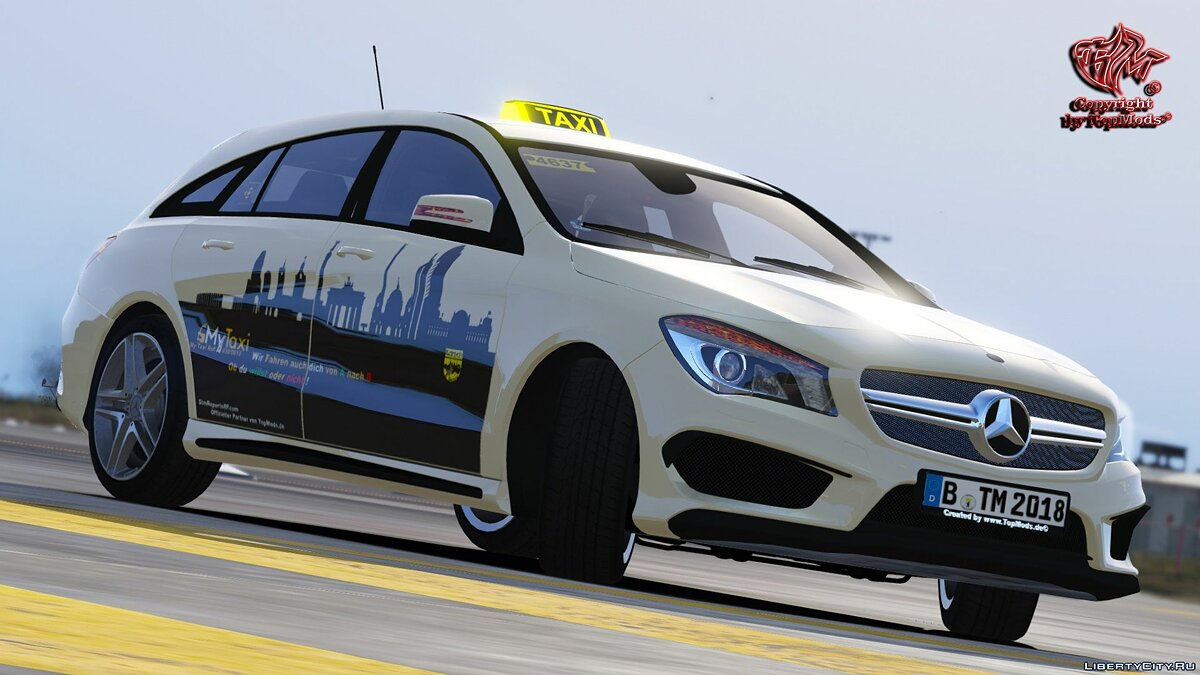 Special Vehicle Mercedes Benz CLA Touring for GTA 5