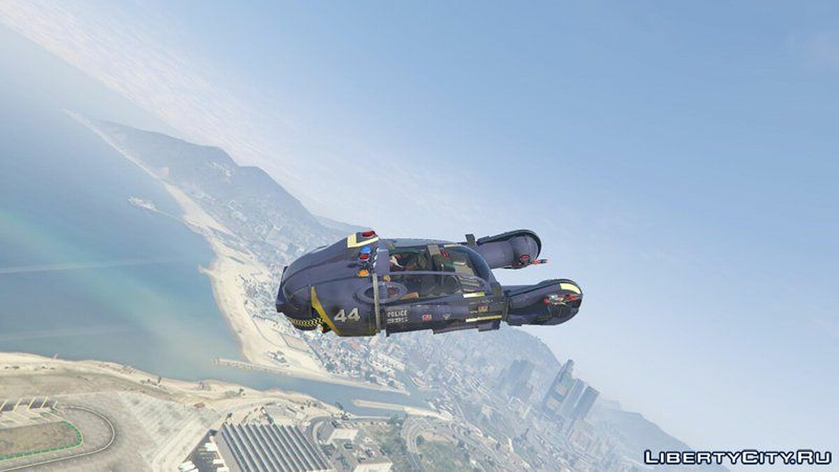 Special Vehicle Blade Runner Spinner [Add-On] for GTA 5