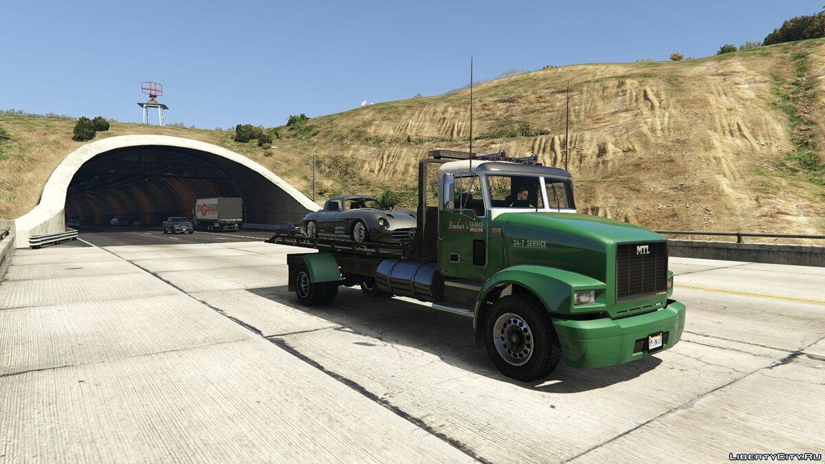 Special Vehicle MTL Flatbed Tow Truck [Add-On / OIV | Wipers | Liveries | Template] 3.0 for GTA 5