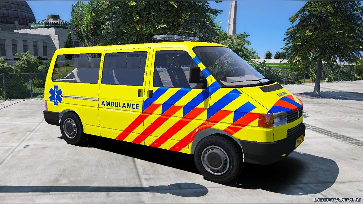 Special Vehicle Volkswagen T4 - Ambulance for GTA 5