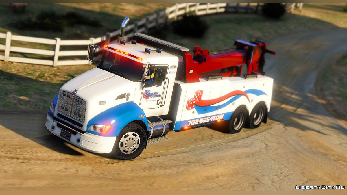 Special Vehicle Kenworth T440 for GTA 5