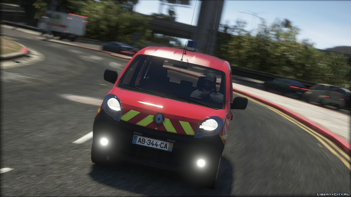 Special Vehicle Renault Kangoo 2010 | Fire Service VL 1.0 for GTA 5