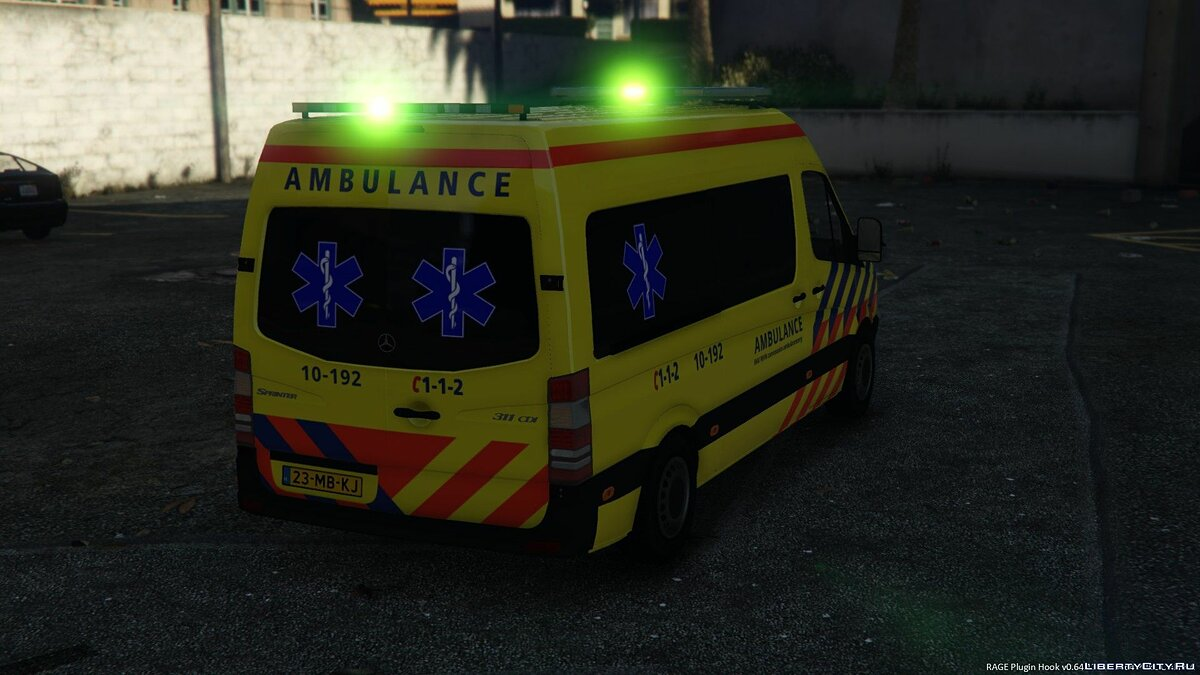 Special Vehicle Mercedes Benz Sprinter 2010 - Ambulance for GTA 5