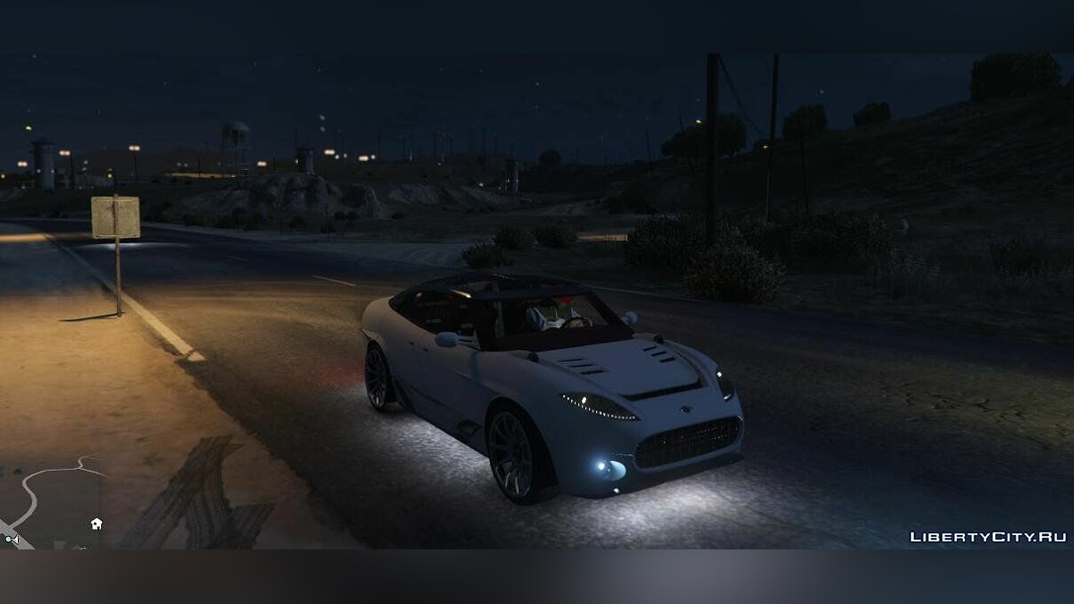 Spyker car Spyker D12 Peking-to-Paris Concept SUV [Add-On] 1.0 for GTA 5