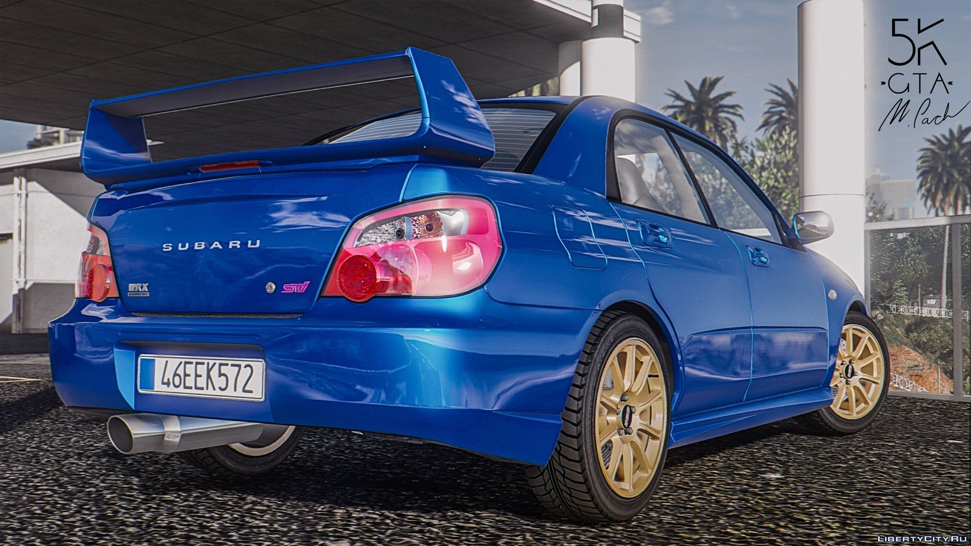 subaru impreza wrx sti 2004 add on tuning for gta 5. Black Bedroom Furniture Sets. Home Design Ideas