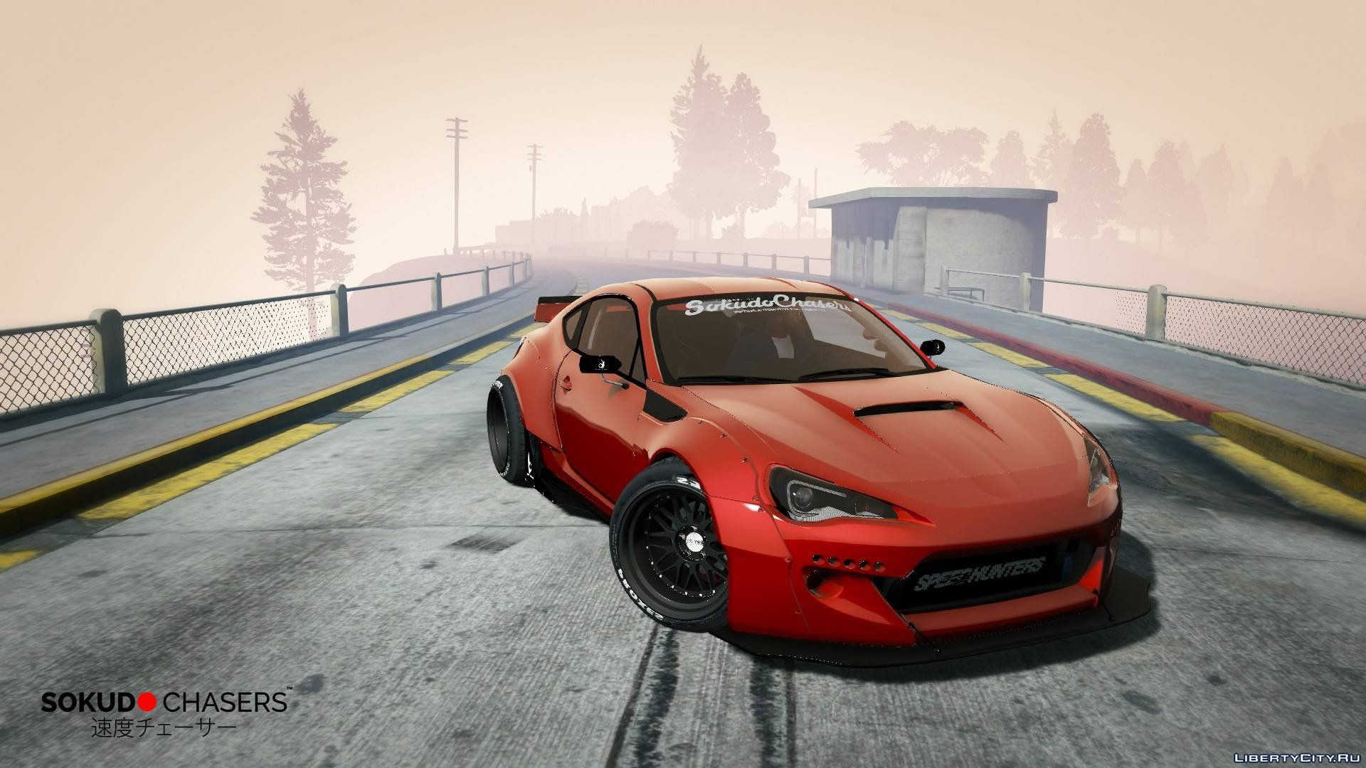 Subaru Brz 2013 6666 Rocket Bunny Replace 1 9 For Gta 5