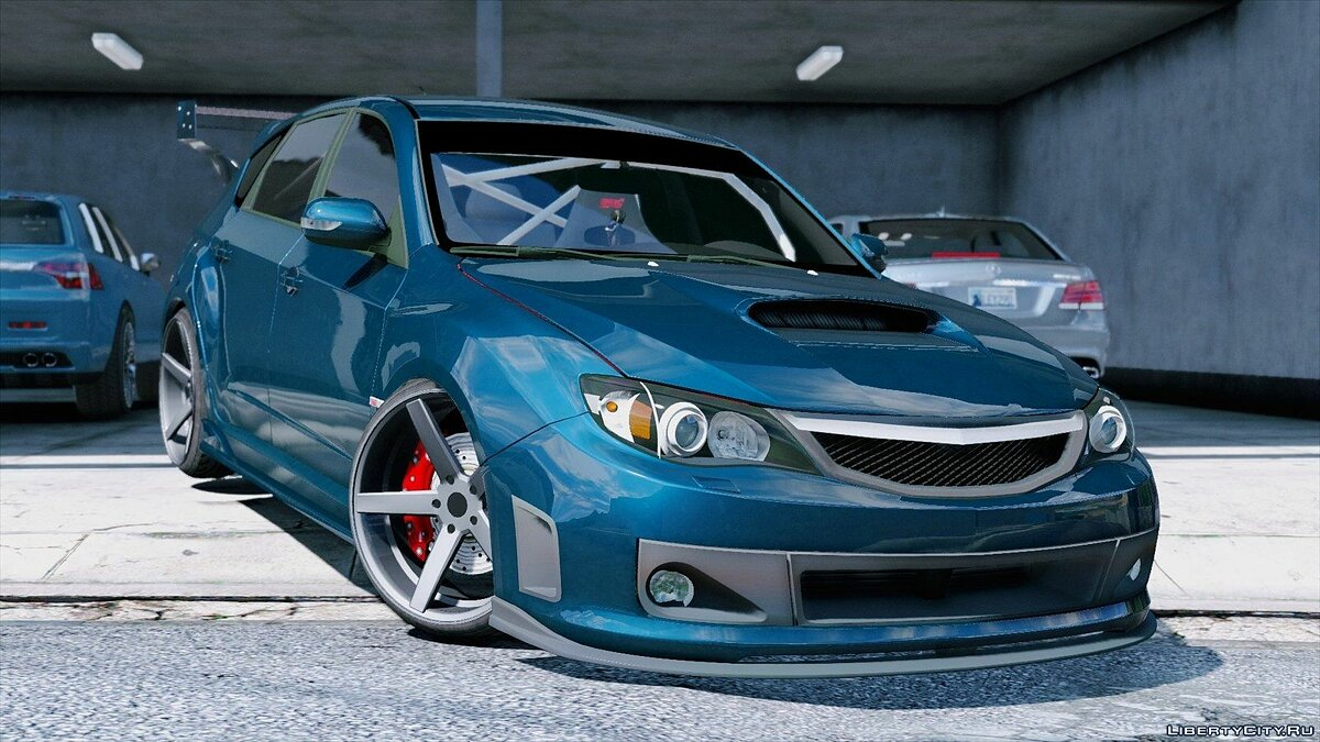 Subaru car Subaru Impreza WRX STI for GTA 5
