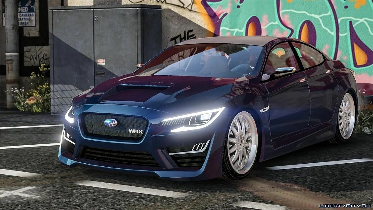 Subaru car Subaru WRX Concept [UNLOCKED / Add on / Replace] for GTA 5