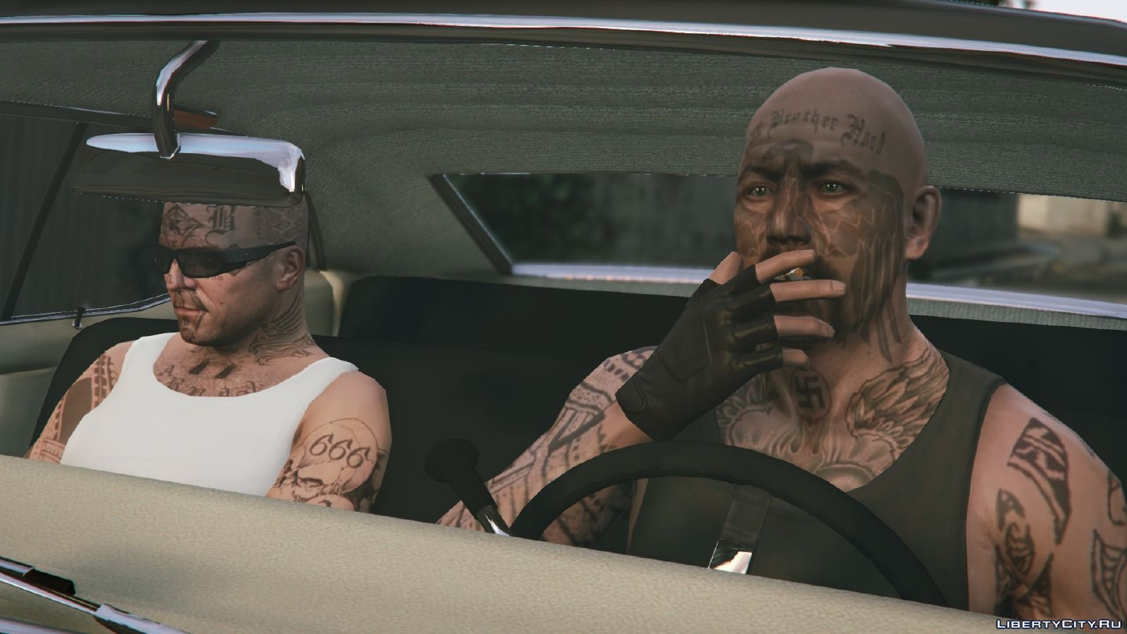 Tattoos And Haircuts For Michael For Gta 5