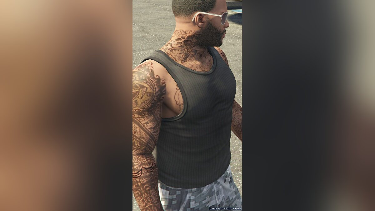 Tattoos Tattoos for Franklin 0.3 for GTA 5