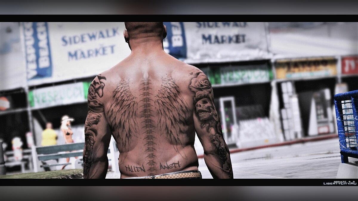 Tattoos Tattoos for franklin for GTA 5