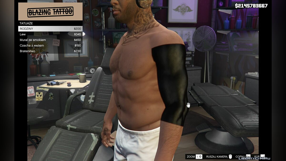 Tattoos New pack of tattoos [HD] [Franklin] for GTA 5