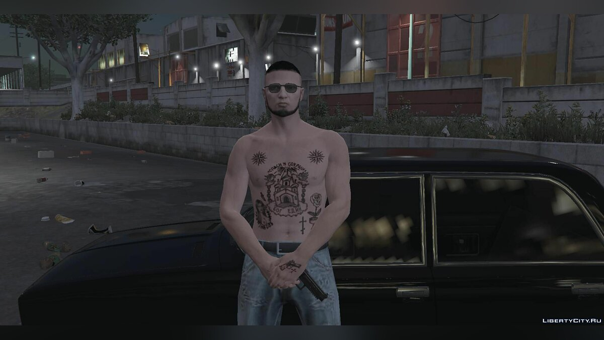 Tattoos [MP Male] Brotherly Tattoos for GTA 5