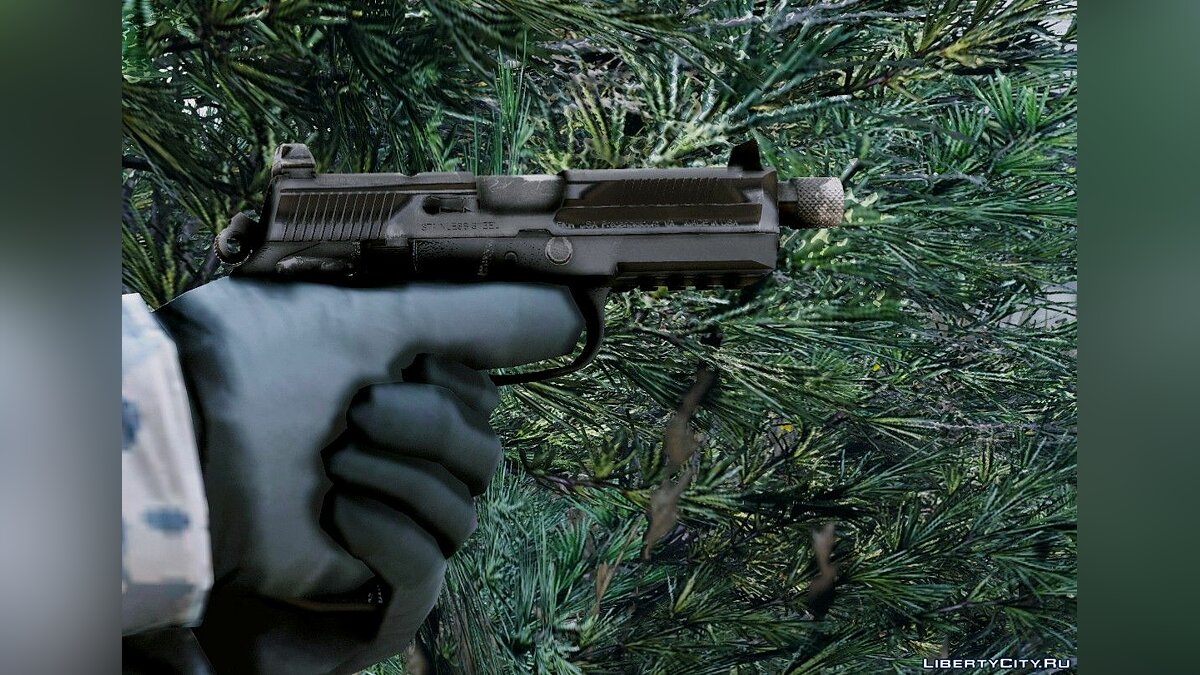 Texture mod New textures for FNX-45 Tactical for GTA 5