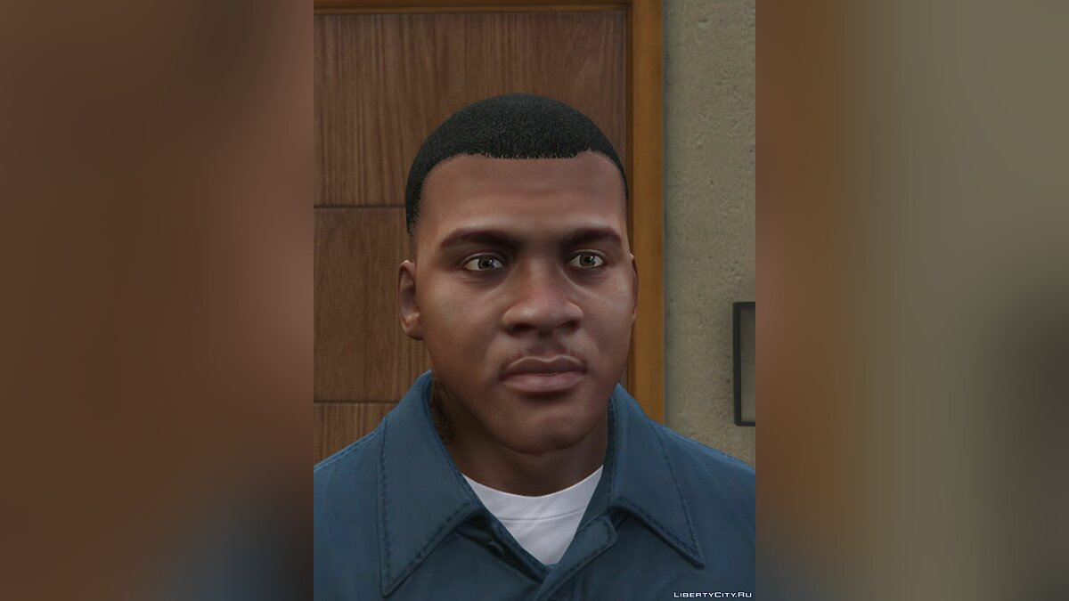 Texture mod HD textures for the face of Franklin and Michael for GTA 5