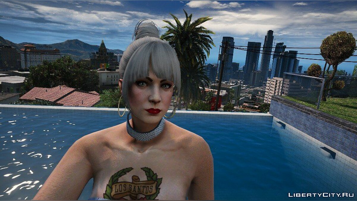Texture mod New faces for female characters for GTA 5
