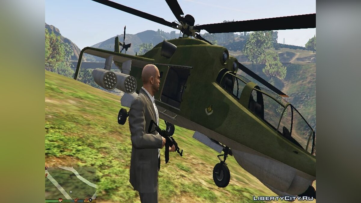 """Russian Mi-24"" texture for Savage for GTA 5 - Картинка #3"
