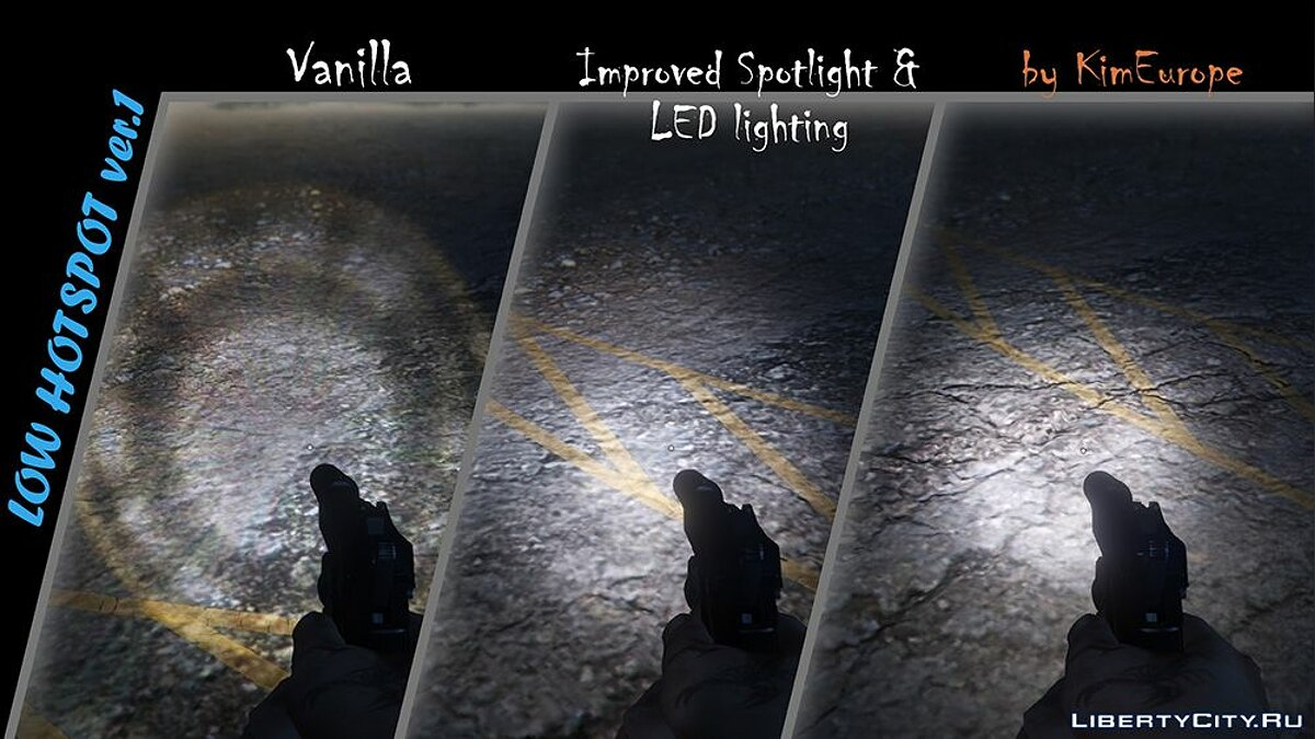Texture mod Lighting improvement for GTA 5