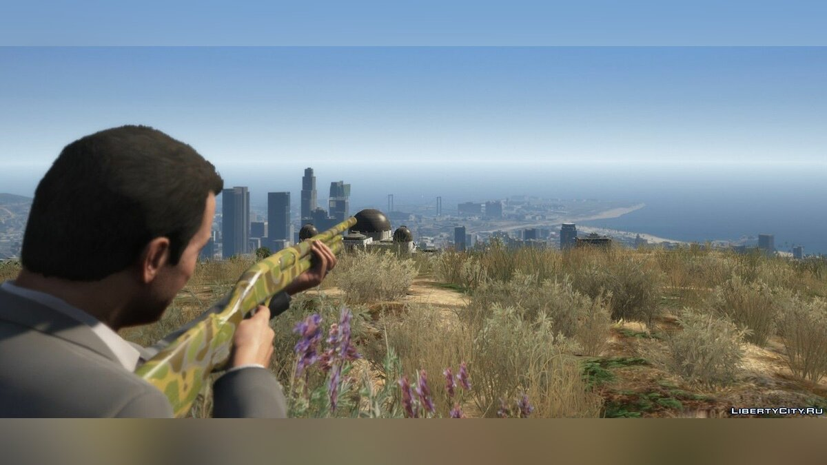 Texture mod Camouflage coloring for Remington 870 for GTA 5
