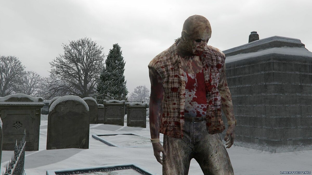 Texture mod Salton Zombie 1.0 for GTA 5
