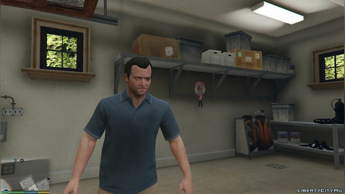 Texture mod One eyed michael for GTA 5