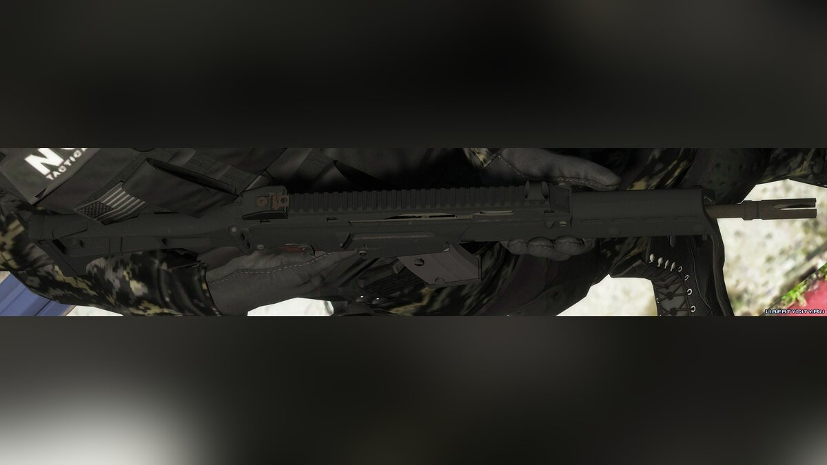 Texture mod New textures for the Heckler & Koch rifle - G36 for GTA 5